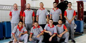 Conheça a equipe que faz a diferença em elétrica, mecânica e eletrônica