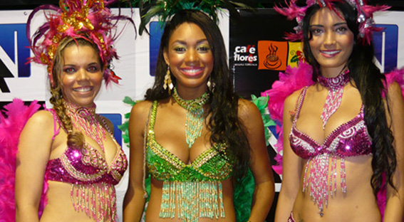 Luciene, Edvânia e Ester… As musas do Carnaval