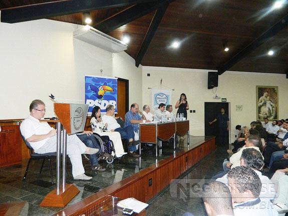 Lideranças do PSDB da região se reúnem em Mogi Mirim