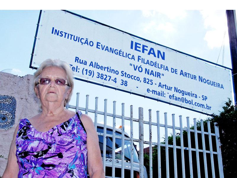 Falta de diretoria pode fechar instituição nogueirense