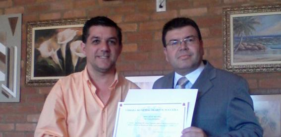 Comean recebe Moção de Congratulações da Câmara Municipal
