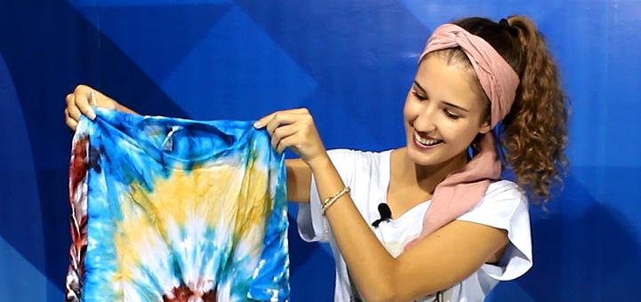 Aprenda a costumizar peças de roupas utilizando a técnica tie dye