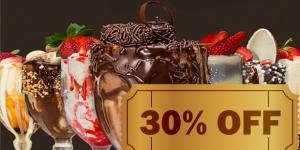 ENCERRADO: Taça de sorvete por R$ 15 na Flamy de Artur Nogueira