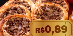 CUPOM: Esfihas de carne por apenas R$ 0,89 cada em Artur Nogueira