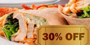 ENCERRADO: burrito de frango por R$ 12,50 em Artur Nogueira