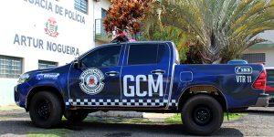 Polícia Municipal detém acusado por furtar residência em Artur Nogueira