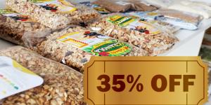 ENCERRADO: Compre granola por R$ 6,80 em Artur Nogueira