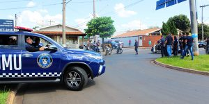 Tentativa de fuga provoca acidente em Artur Nogueira