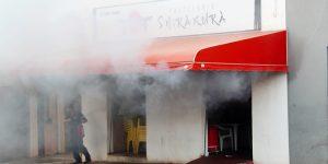 Incêndio danifica pastelaria em Artur Nogueira