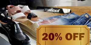 ENCERRADO: 20% de desconto em jeans e Melissa em Artur Nogueira