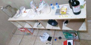 Policiais de Artur Nogueira localizam refinaria de drogas