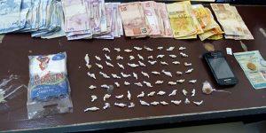 Polícia prende acusado com diversas porções de crack em Artur Nogueira