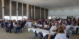 Leilão de gado em prol da Aidan reúne mais de 600 pessoas em Artur Nogueira