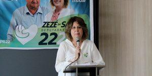 Zezé da Saúde lança candidatura a deputada em Artur Nogueira