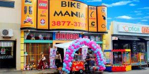 Bike Mania tem tudo para o Dia das Crianças em Artur Nogueira