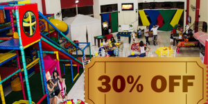 ENCERRADO: 30% de desconto num dia de férias para as crianças na Lucky Day