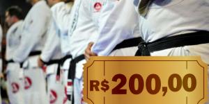 CUPOM: Faça sua inscrição na Gracie Barra e ganhe R$ 200 de desconto no uniforme