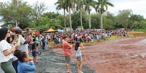 Esquadrilha da Fumaça reúne milhares de pessoas no Balneário de Artur Nogueira