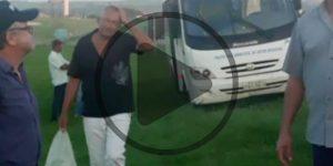 Pacientes passam mal por más condições do transporte da Saúde de Artur Nogueira