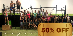 CUPOM: 50 OFF na matrícula do Cross Training na Box Spots