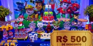 CUPOM: Faça sua festa no Buffet Grilo Falante e ganhe R$500 em desconto