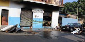 Após incêndio, tapeçaria é interditada em Artur Nogueira