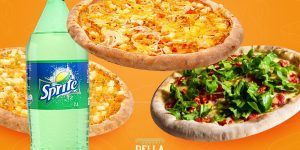 Pizza + 1 Sprite por R$35 na Della Nona Pizzaria
