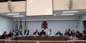 Projeto de iniciativa popular contra a concessão do Saean é apresentado na Câmara