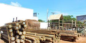 Madeira de eucalipto tratado a partir de R$ 10 em Artur Nogueira