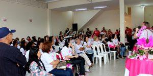"""""""Todo Mês é Rosa"""" contra o Câncer de Mama aconteceu neste domingo em Artur Nogueira"""